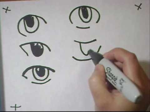 Drawing Eyes Tutorial Part 2- To replace googly eyes