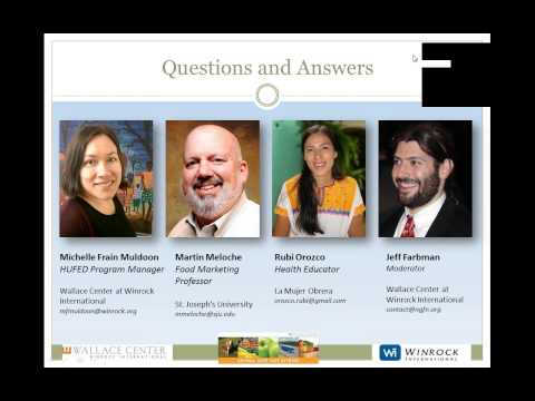 Consumer Behavior Concepts for Effective Marketing of Healthy Food  - an NGFN webinar
