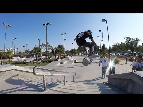 A DAY WITH BRAILLE AT FREMONT SKATEPARK!