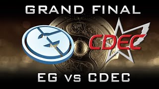 EG vs CDEC All Games - Grand Final TI5 Highlights Dota 2
