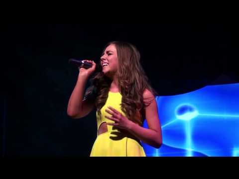 THE SILENCE  - Alexandra Burke cover version performed at TeenStar