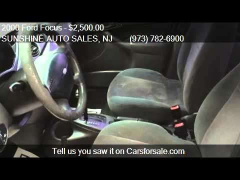 2000 Ford Focus Sony Limited GAS SAVER  for sale in Paterson