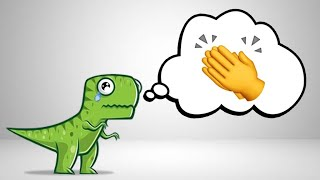 ¿Por qué un T-Rex no puede aplaudir?
