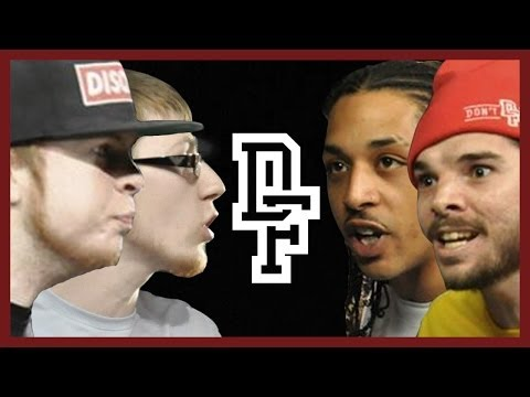 DON'T FLOP - Rap Battle - Cee Major & Cracker Vs Mr 13 & Nishi