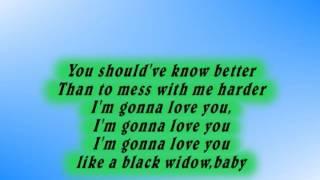 BLACK WIDOW   IGGY AZALEA FEAT RITA ORA  LYRIC VIDEO