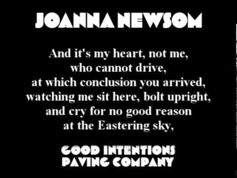 Joanna Newsom - Good Intentions Paving Company
