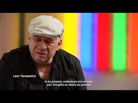 Leon Tarasewicz W Muzeum Architektury We Wrocławiu
