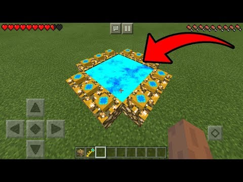 How To Make an Aether Portal in Minecraft Pocket Edition