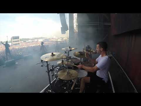 August Burns Red - Invisible Enemy_MATT GREINER (LIVE DRUM CAM) thumbnail