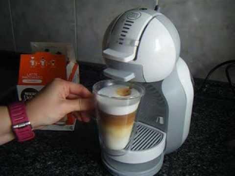 nescafe dolce gusto latte macchiato hecho con la nueva nescafe dolce gusto mini me youtube. Black Bedroom Furniture Sets. Home Design Ideas