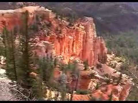 Travel USA-Bryce Canyon National Park Utah 旅游美国