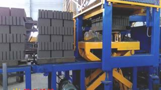 cement brick machine fully automatic free pallets