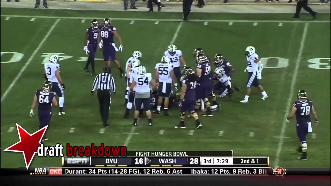 James Atoe vs BYU (2013)