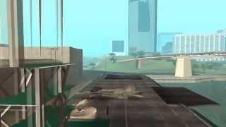 F-18 Hornet VS SAM : GTA SA Short Movie 3