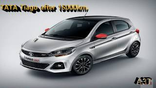 Tata Tiago XZ(petrol) after 15000 KM( finished 4 services)