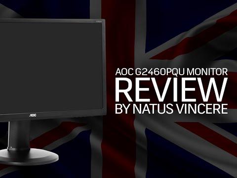 AOC G2460PQU Gaming Monitor Review by NaVi