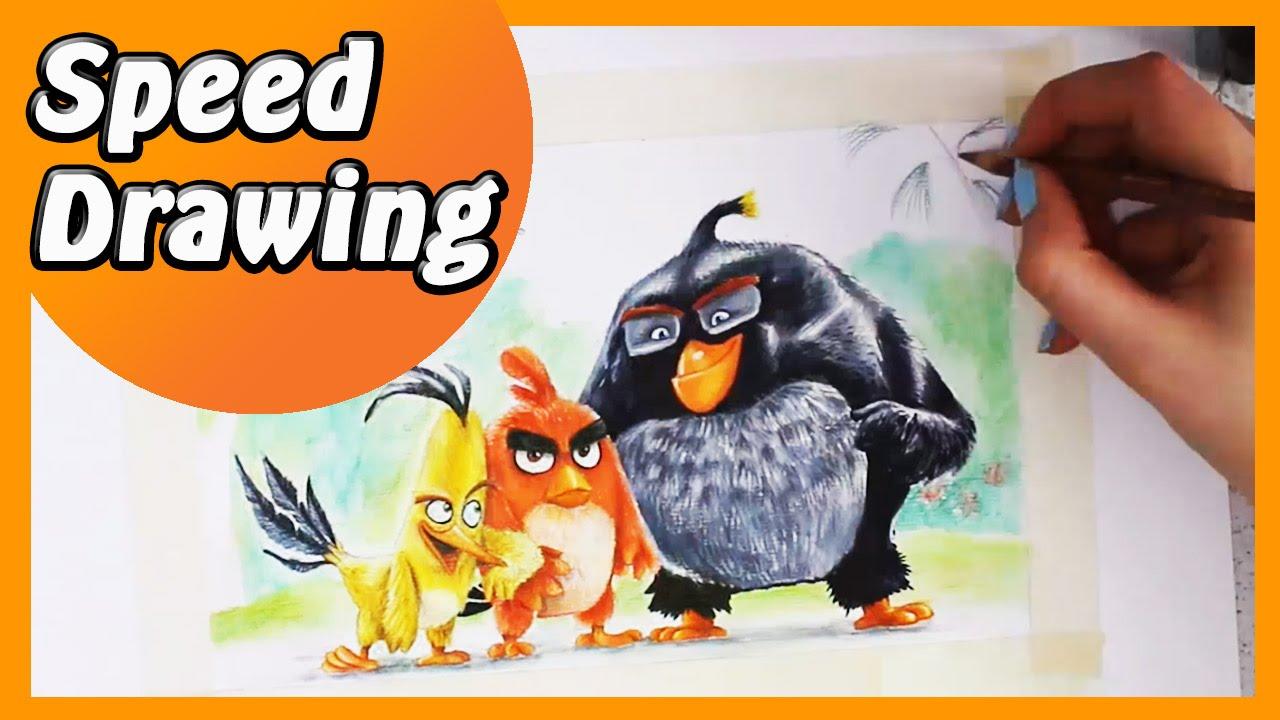 ANGRY BIRDS: Conosci Red, Chuck e Bomb! [HD]