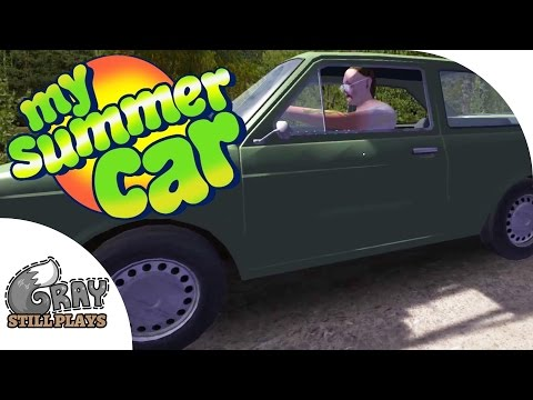 MAN DRIVES DRUNK ALL OVER FINLAND + Finishing the Car - My Summer Car Gameplay Highlights Ep 10