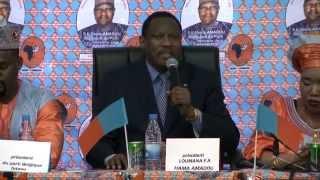 LUMANA AFRICA : Meeting du président du parti Hama Amadou à Bruxelles - 31 mai 2015