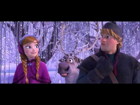 Frozen Let it snow, let it snow