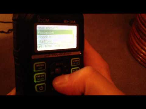 Icom ID-31 Hands On Quick Overview