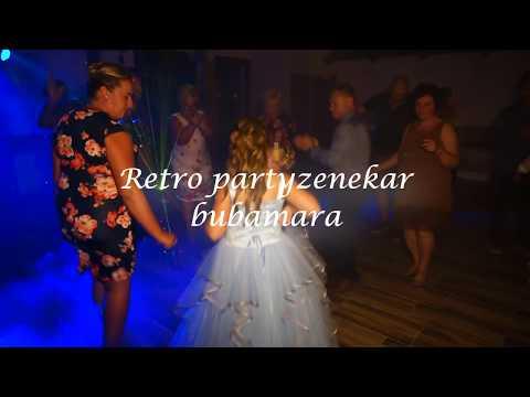 Retro partyzenekar esküvői zenekar   Bubamara