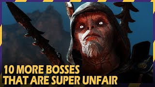 10 more unfair bosses in gaming