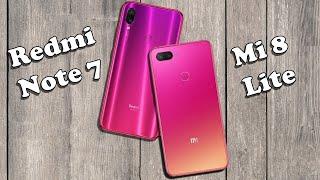 So sánh Redmi Note7 vs Xiaomi Mi 8 Lite: Ngang sức ngang tài...