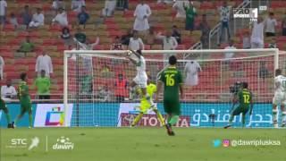 هدف الأهلي الرابع ضد الخليج (عمر السومة ) في الجولة 7 من دوري جميل