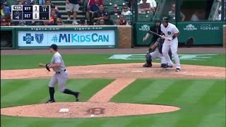 FULL Yankees-Tigers Brawl