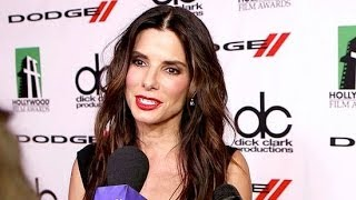 Did Sandra Bullock Get Sick Simulating Weightlessness in Gravity? | POPSUGAR Interview