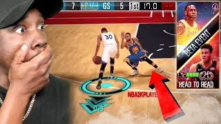 CURRY BREAKING ANKLES In REAL TIME PvP! NBA 2K Mobile Gameplay Ep. 33