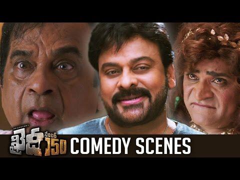 Khaidi No 150 Movie Comedy Scenes   Hilarious   Chiranjeevi   Brahmanandam   Ali   TFPC thumbnail