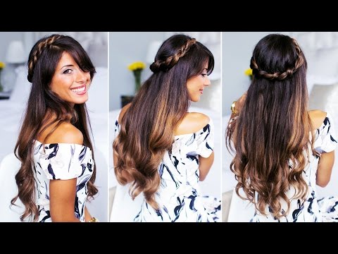 Twisted Half-Up Do Hairstyle