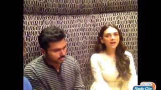 Actress Aditi Rao sings 'Vaan Varuvaan' exclusively for Radio City fans!