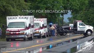 6 22 18 Lake Providence, AR Heavy Rain Causes Hyrdoplaning Accident