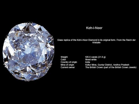 Kohinoor diamond originated, in the south Indian state of Andhra Pradesh, one of the world's