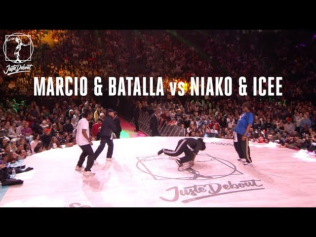 Hip Hop battle semi final Niako & Icee vs Batalla & Marcio