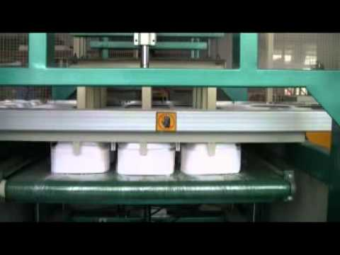 Latest styrofoam/thermocol/PS food container/fast food box forming machine