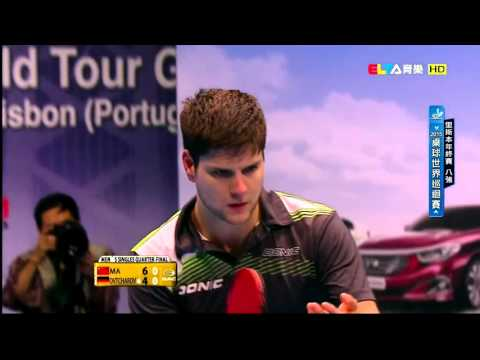 2015 Grand Finals (MS-QF) MA Long - OVTCHAROV Dimitrij [HD] [Full Match/Chinese]