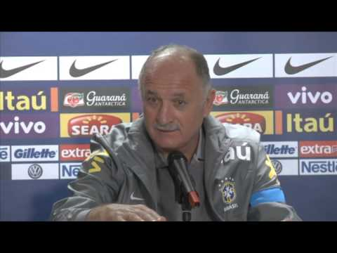 Italy 2-2 Brazil - Scolari post-match press conference