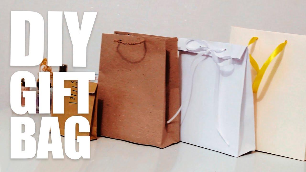 Изготовление бумажного пакета своими руками видео