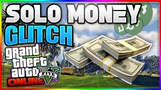 "GTA 5 Money Glitch - ""SOLO MONEY GLITCH"" 1.42 (GTA 5 online Money Glitch)"