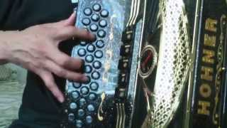 Bailame, Colmillo Norteno, (Acordeon Tutorial Completo)