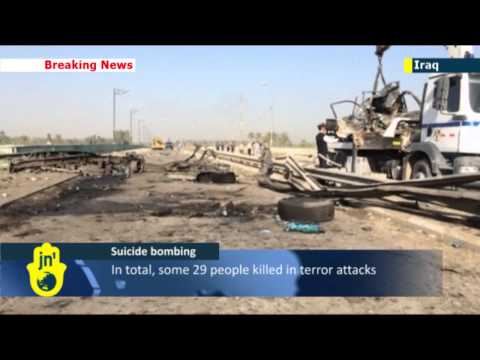 Nine dead in Iraq suicide bombing at army checkpoint: series of attacks target security forces