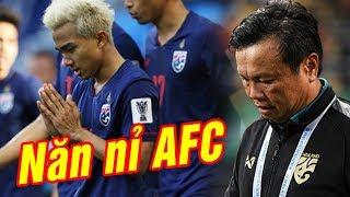 Muốn thắng Việt Nam, Thái Lan đã muối mặt năn nỉ AFC điều này