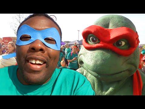 NINJA TURTLES 5K Fun Run (#BRINGIT) : Black Nerd