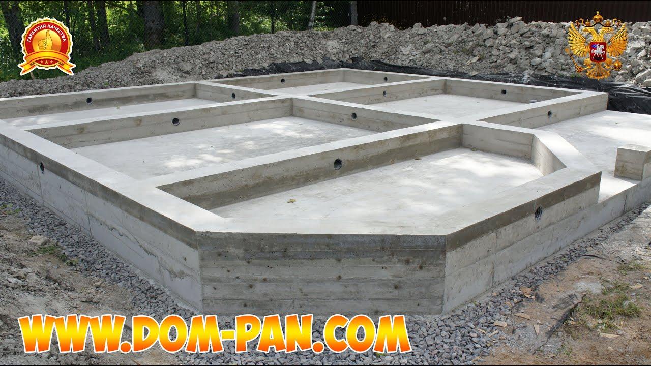 Как сделать плиту на фундамент своими руками 311