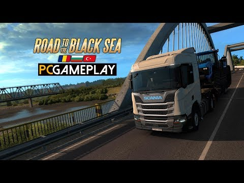 Euro Truck Simulator 2: Road to the Black Sea Gameplay (PC HD)