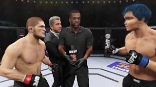 Khabib vs. Crazy Anime (EA Sports UFC 2)